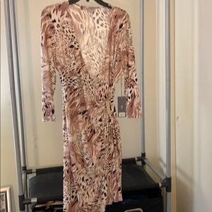Jennifer Lopez Wrap Dress.